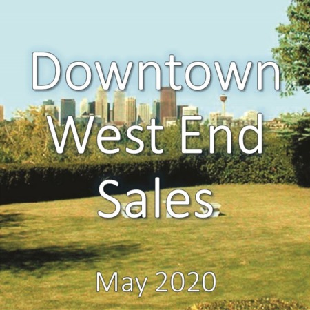 Downtown West End Housing Market Update May 2020
