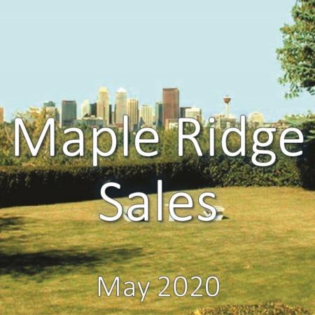 Maple Ridge Housing Market Update May 2020