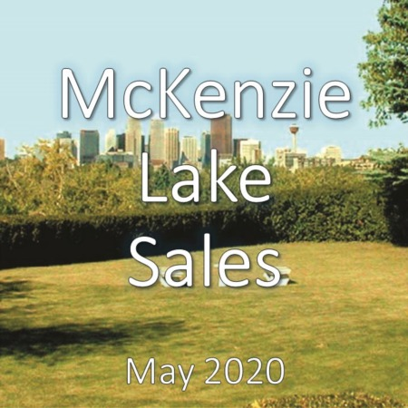 McKenzie Lake Housing Market Update May 2020