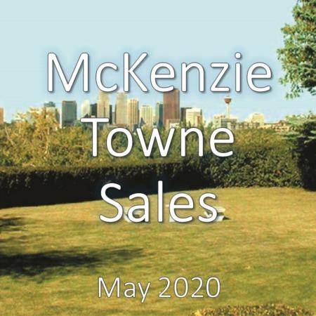 McKenzie Towne Housing Market Update May 2020