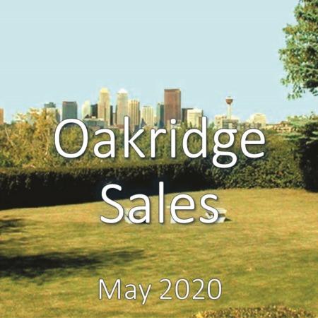 Oakridge Housing Market Update May 2020