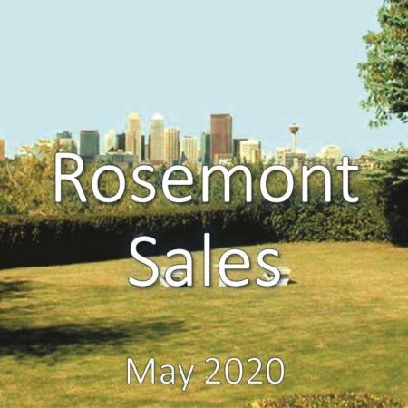 Rosemont Housing Market Update May 2020