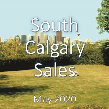 South Calgary Housing Market Update May 2020