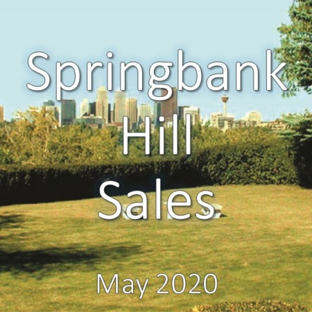 Springbank Hill Housing Market Update May 2020