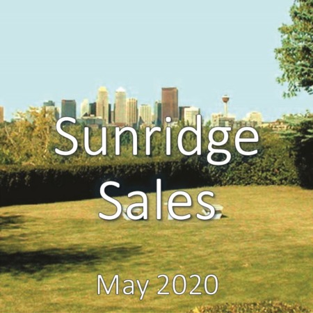 Sunridge Housing Market Update May 2020