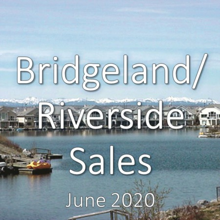 Bridgeland/Riverside Housing Market Update June 2020