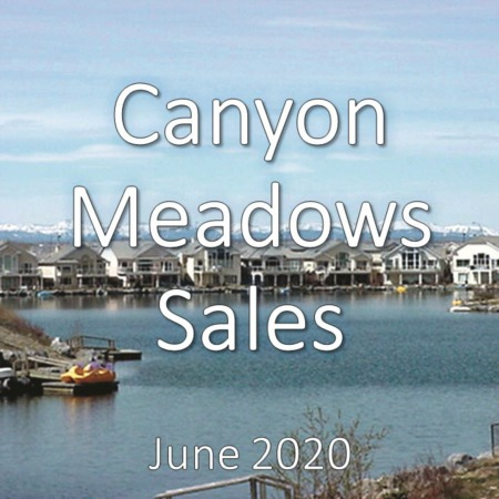 Canyon Meadows Housing Market Update June 2020