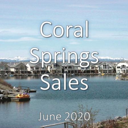 Coral Springs Housing Market Update June 2020