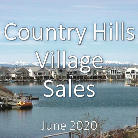 Country Hills Village Housing Market Update June 2020
