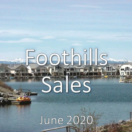 Foothills Housing Market Update June 2020