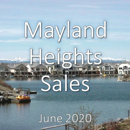 Mayland Heights Housing Market Update June 2020