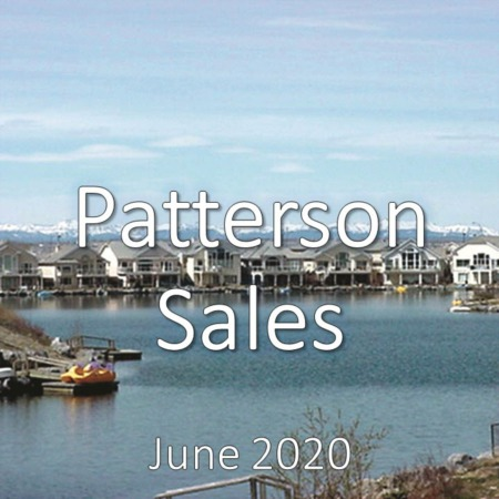 Patterson Housing Market Update June 2020