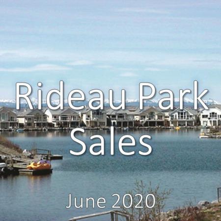 Rideau Park Housing Market Update June 2020