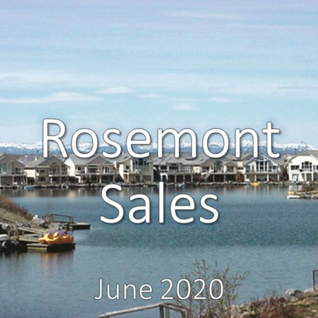 Rosemont Housing Market Update June 2020
