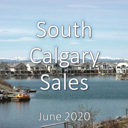 South Calgary Housing Market Update June 2020