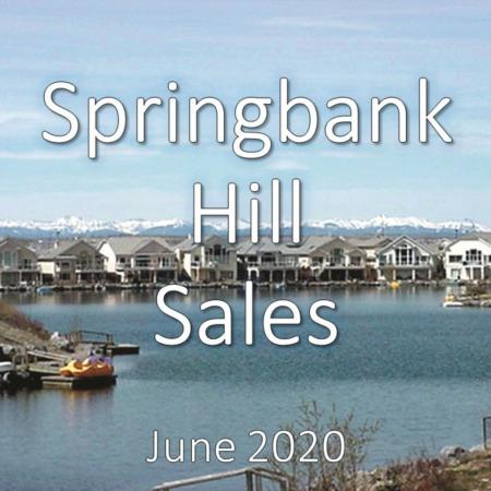 Springbank Hill Housing Market Update June 2020