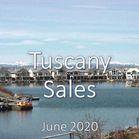 Tuscany Housing Market Update June 20202
