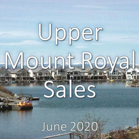 Upper Mount Royal Housing Market Update June 2020