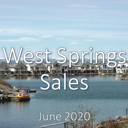 West Springs Housing Market Update June 2020