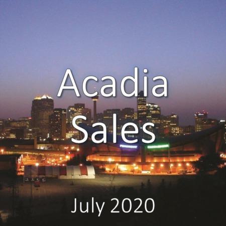 Acadia Housing Market Update July 2020
