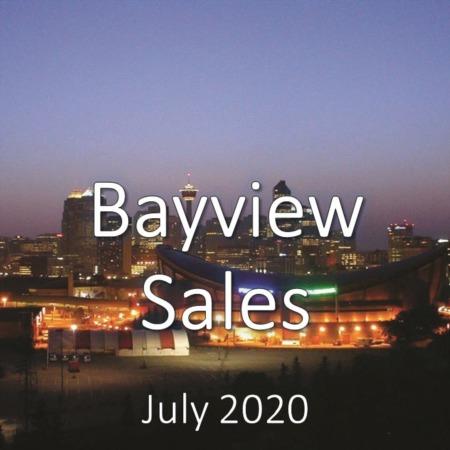 Bayview Housing Market Update July 2020