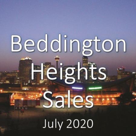 Beddington Heights Housing Market Update July 2020
