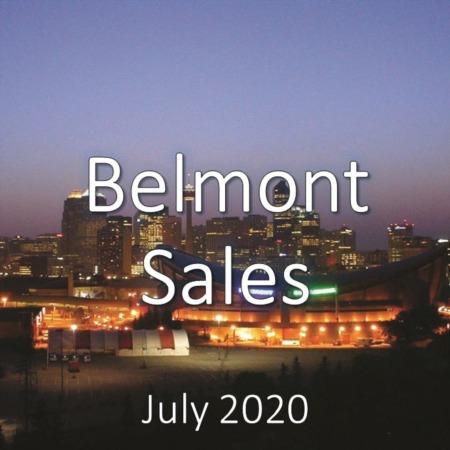 Belmont Housing Market Update July 2020