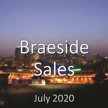 Braeside Housing Market Update July 2020