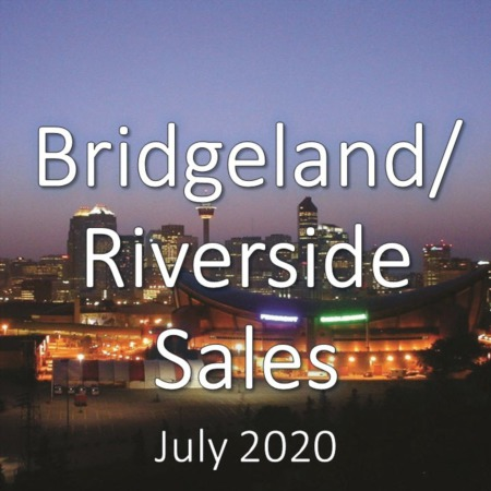 Bridgeland/Riverside Housing Market Update July 2020