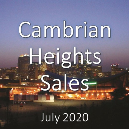 Cambrian Heights Housing Market Update July 2020