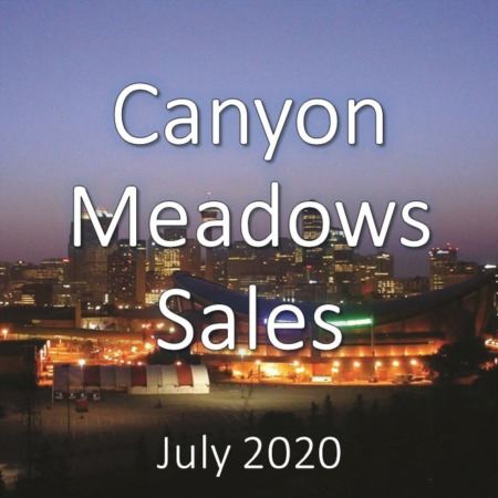 Canyon Meadows Housing Market Update July 2020