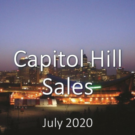 Capitol Hill Housing Market Update July 2020