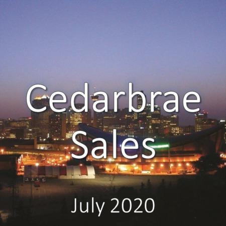 Cedarbrae Housing Market Update July 2020