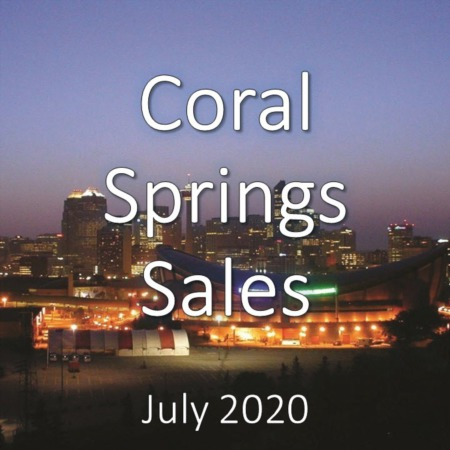 Coral Springs Housing Market Update July 2020