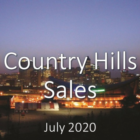 Country Hills Housing Market Update July 2020