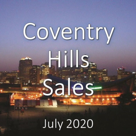Coventry Hills Housing Market Update July 2020