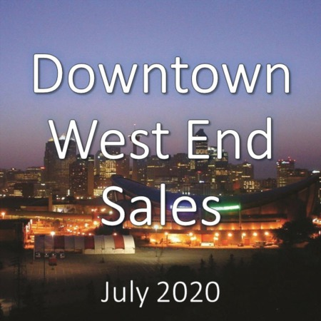 Downtown West End Housing Market Update July 2020