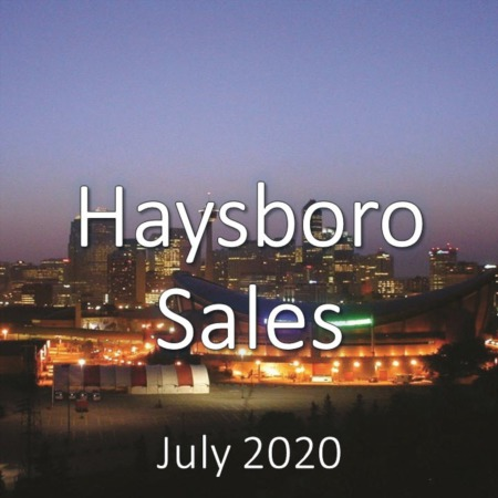 Haysboro Housing Market Update July 2020