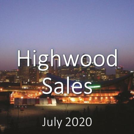 Highwood Housing Market Update July 2020