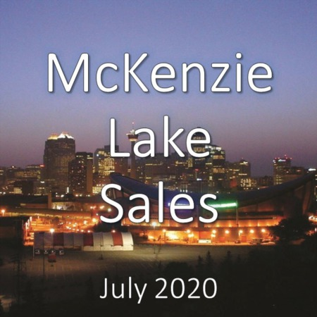 McKenzie Lake Housing Market Update July 2020