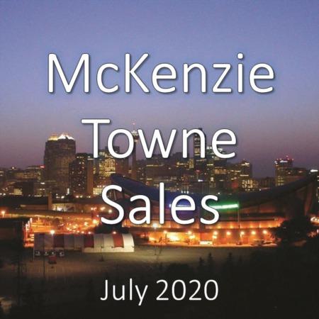 McKenzie Towne Housing Market Update July 2020