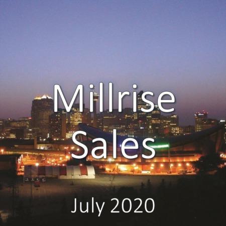 Millrise Housing Market Update July 2020