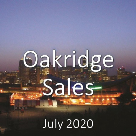 Oakridge Housing Market Update July 2020