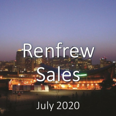 Renfrew Housing Market Update July 2020