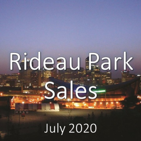 Rideau Park Housing Market Update July 2020