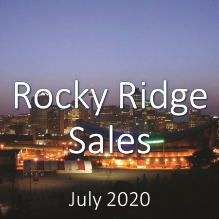 Rocky Ridge Housing Market Update July 2020