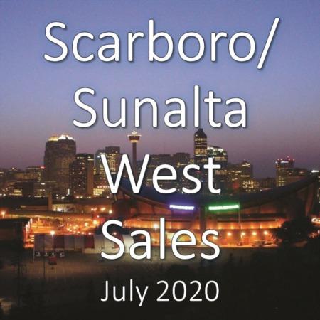 Scarboro/Sunalta West Housing Market Update July 2020
