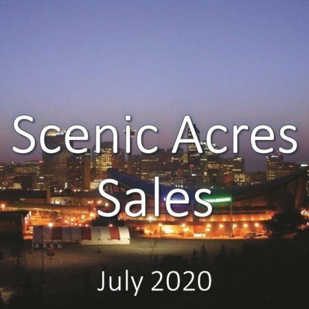 Scenic Acres Housing Market Update July 2020