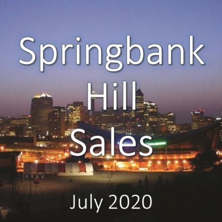 Springbank Hill Housing Market Update July 2020