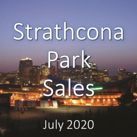 Strathcona Park Housing Market Update July 2020